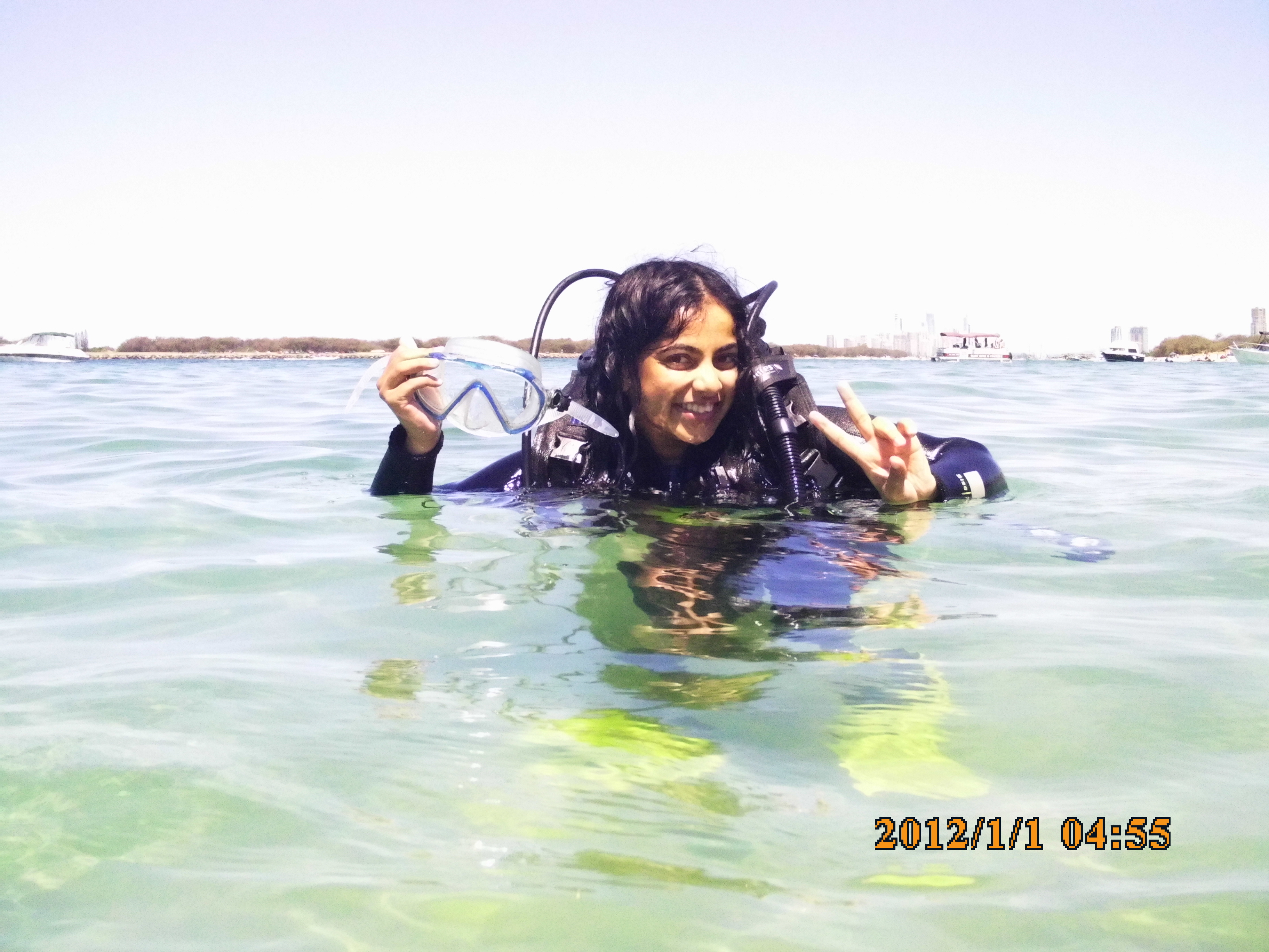 Diving in Gold Coast (Queensland, Australia)